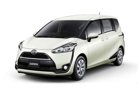 MPV Toyota Sienta or Similar 7 4 Automatic Transmission HLC Service provided by HLC